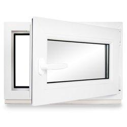 verschiedene Ma/ße Kunststoff Fenster DIN rechts BxH: 90x90 cm 3-fach-Verglasung Kellerfenster LAGERWARE wei/ß 60mm Profil